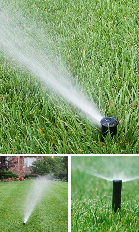 Irrigation sprinler