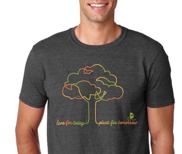 2019 Tree Top Garden Tshirt
