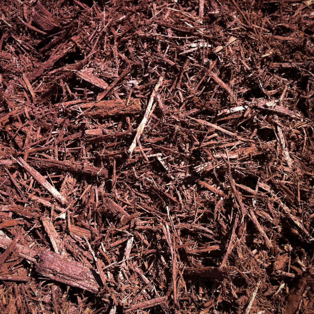 Forest Brown Hardwood Mulch-Bulk