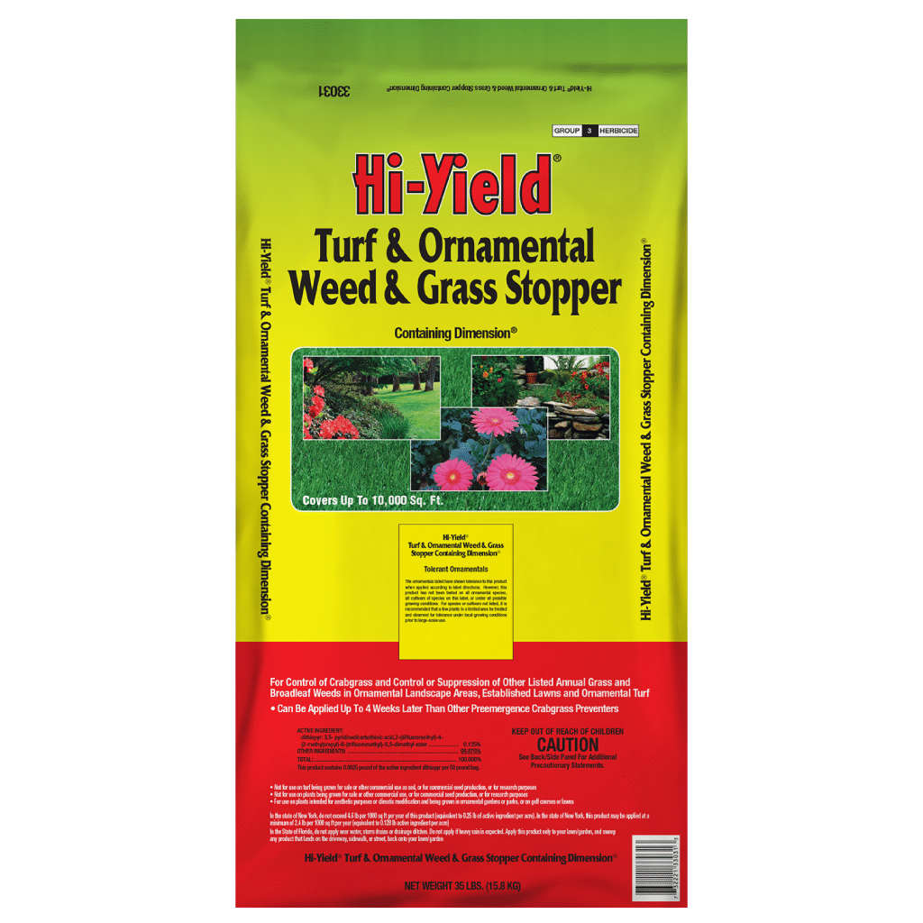 Hi-Yield Turf Ornamental Weed And Grass Stopper 12 Lbs